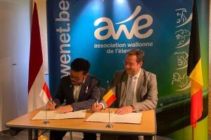 David Clarinval a rencontré le ministre indonésien de l'agriculture, Syahrul Yasin Limpo, à Ciney en vue d'accroître les échanges commerciaux de produits agricoles entre la Belgique et l'Indonésie